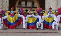 Folkloric Dance in colombia