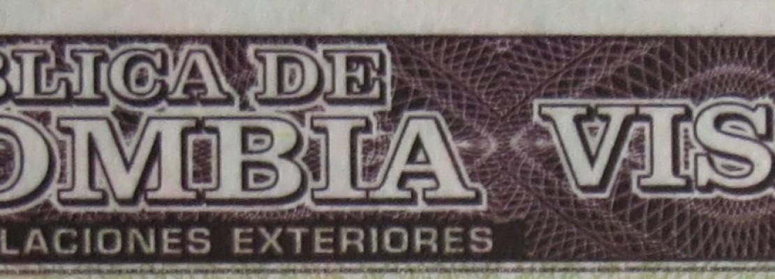 Colombian Visa