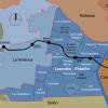 Laureles map